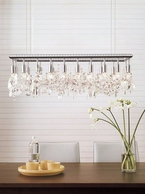 Rectangular chandelier 22
