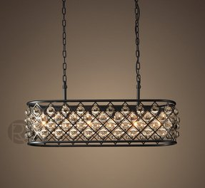 Rectangular chandelier 4