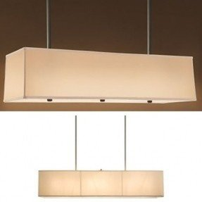 Rectangular shade chandelier foter rectangular drum chandelier aloadofball Gallery