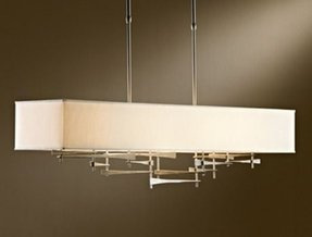 Rectangular shade chandelier foter rectangular shade chandelier 4 aloadofball Gallery