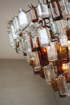 Recycled Glass Chandelier Foter