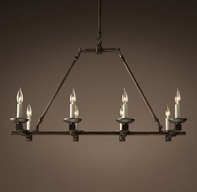 Restoration hardware candle chandelier 1
