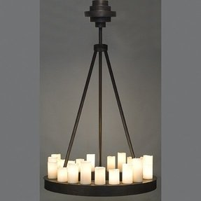 Round candle chandelier foter 10780 c round beeswax candle chandelier aloadofball Image collections
