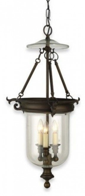 Royce Lighting 3 Light Chandeliers Williamsburg Style Oil Rubbed Bronze Traditional Chandeliers