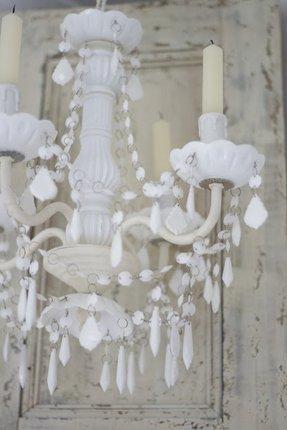 Milk glass chandelier foter sara milk glass chandelier 2 aloadofball Choice Image