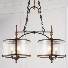 Seeded glass chandelier shade foter seeded glass chandelier shade 1 aloadofball Images