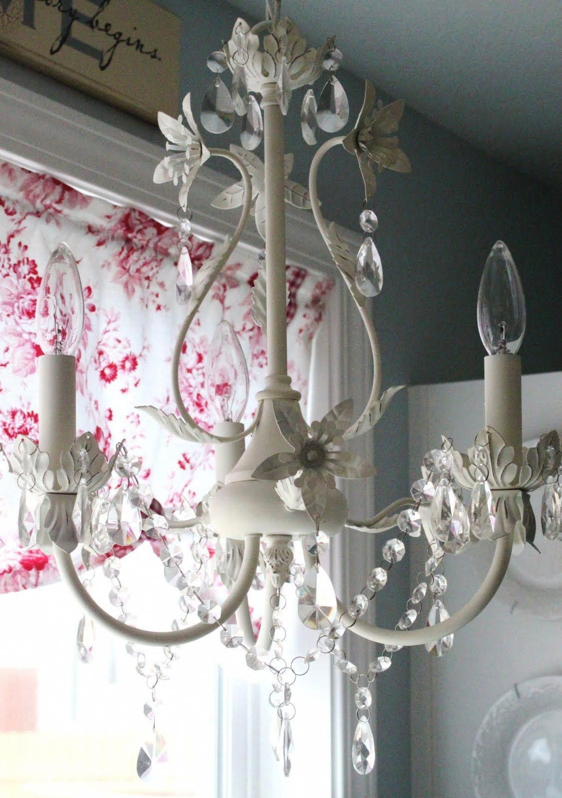 Charming Shabby Chic Candle Chandelier 7