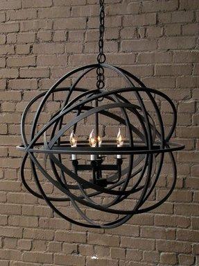 Sphere chandelier foter sphere chandelier 9 aloadofball Image collections