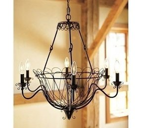 The other fabulous chandelier situation this fall is what theyre