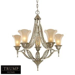 Trump Home Central Park Chelsea 5 Light Chandelier