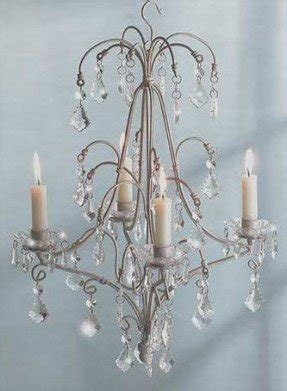 Votive candle chandelier 2