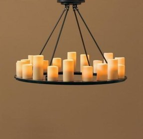 Votive candle chandelier foter votive candle chandeliers 1 aloadofball Image collections