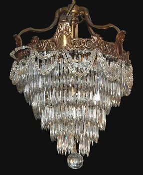 Waterfall crystal chandelier 10