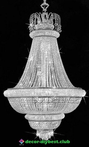 Waterfall crystal chandelier 3