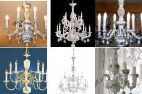 White Porcelain Chandelier - Ideas on Foter