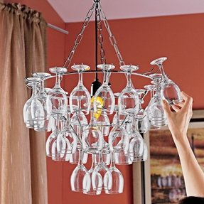 Wine glass chandelier foter wine glass chandelier 2 aloadofball Images