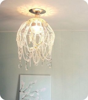 Wire basket chandelier foter wire basket chandelier 5 greentooth Gallery