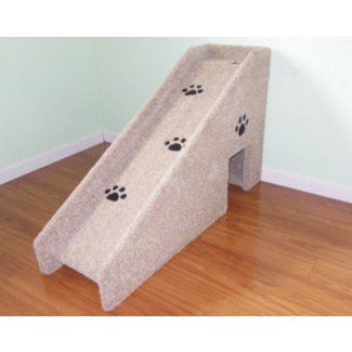 24 inch tall dog ramp all wood and screw