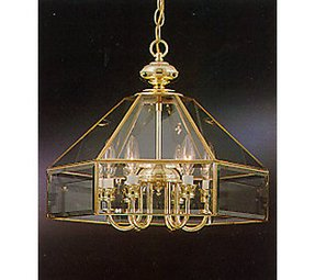Beveled glass chandelier 31