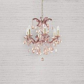 Beveled glass chandelier foter beveled glass chandelier 9 mozeypictures Gallery