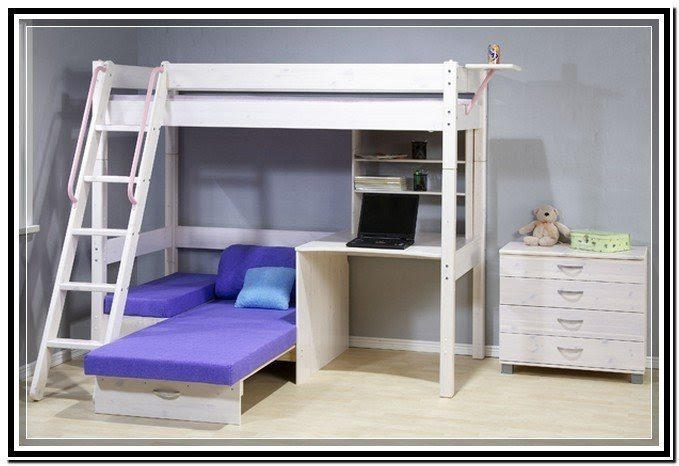 Bunk bed with desk and futon  sc 1 st  Foter & Bunk Bed With Desk And Futon - Ideas on Foter