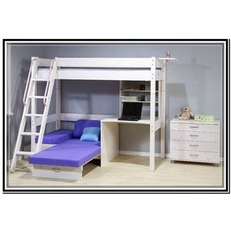 Bunk Bed With Desk And Futon Ideas On Foter