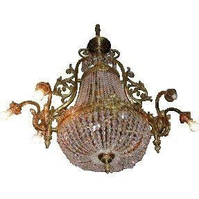 French empire crystal chandelier foter crystal chandelier ebay aloadofball Gallery