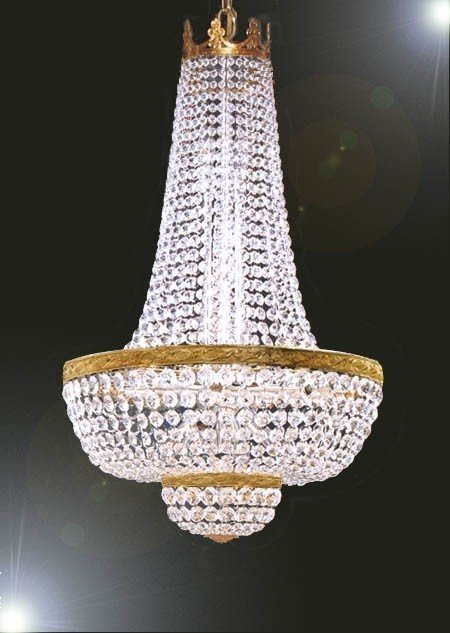 French Empire Crystal Chandelier 7