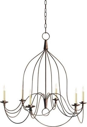 French wire chandelier 10