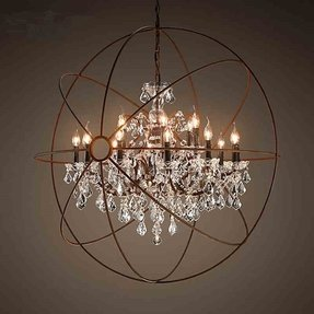 Large rustic chandeliers 7