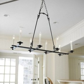 Rectangular Candle Chandelier Foter