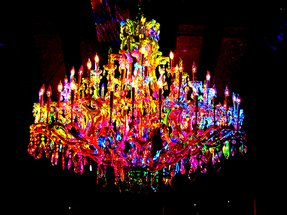 Multi color chandelier foter multi color chandelier 6 mozeypictures Images