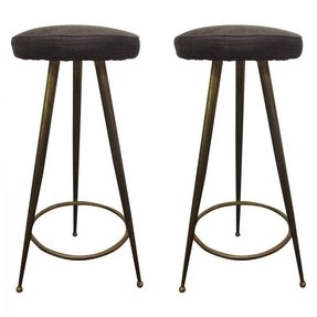 Pair of swivel bar stools designs leisure