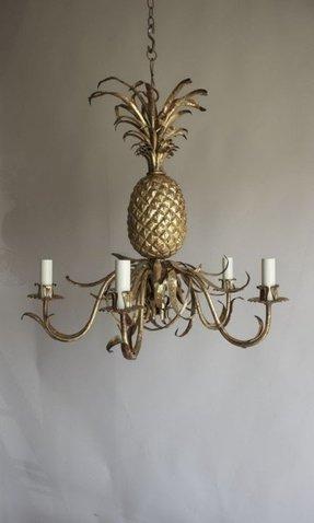 Pineapple chandelier foter pineapple chandelier 43 aloadofball Gallery