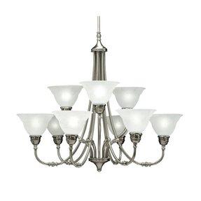 Portfolio 9 light chandelier foter portfolio 9 light chandelier 3 aloadofball Image collections