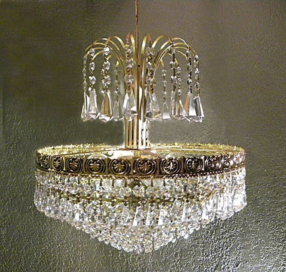 Rare authentic schonbek crystal chandelier excellent condition free shipping