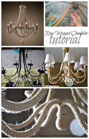 Diy Rope Chandelier Rope chandelier foter restoration hardware rope chandelier 2 audiocablefo