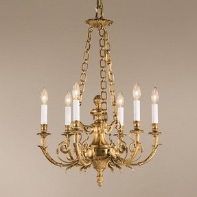 Solid brass chandelier 11