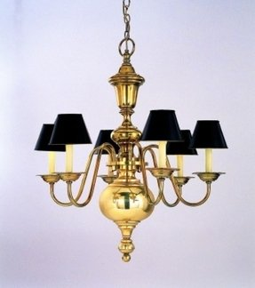 Solid brass chandelier foter solid brass chandelier 6 aloadofball