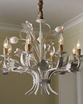 Tulip iron chandelier foter tulip chandelier aloadofball Images