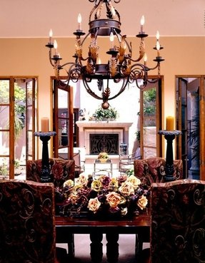 Tuscan style chandeliers 7