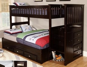 Bunk Bed Twin Over Full With Stairs Foter
