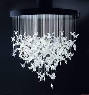 Whimsical chandelier light 12