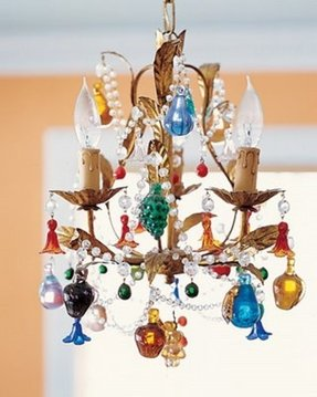 Whimsical chandelier light 22