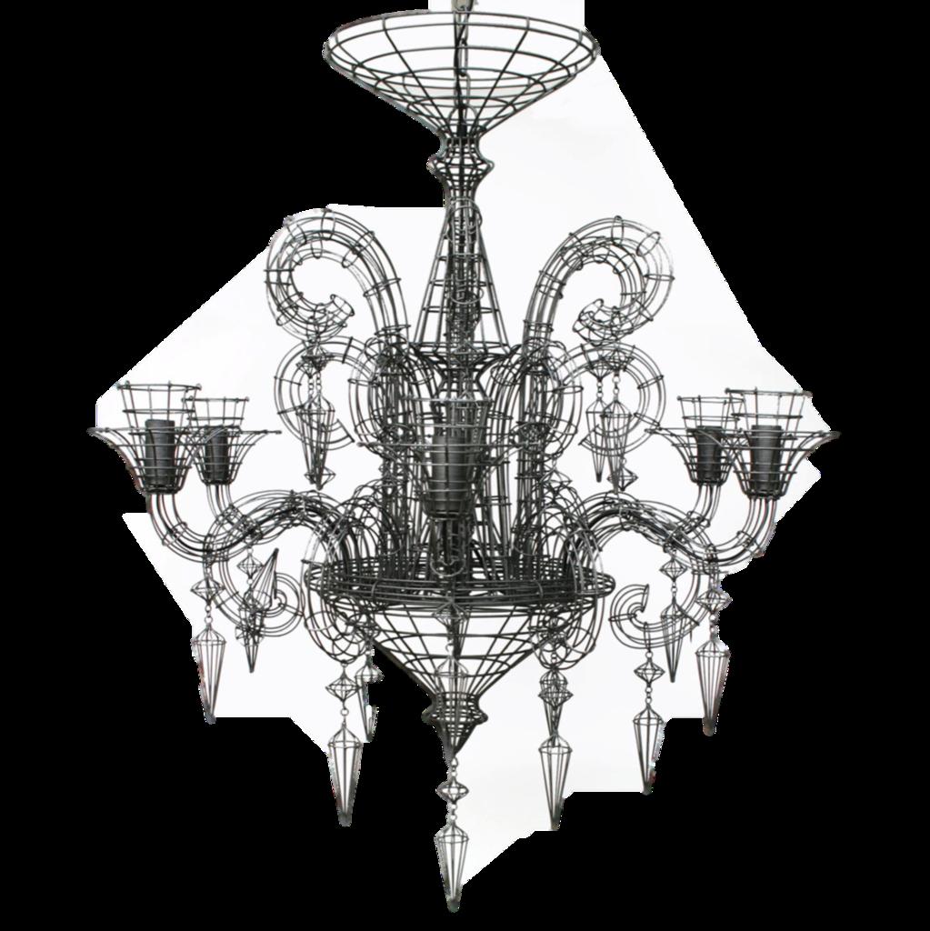 french wire chandelier foter rh foter com Socket Wiring Black White Black and White Wiring Standard