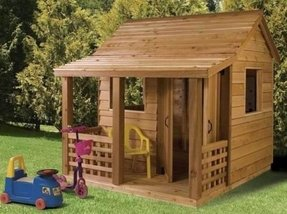 Wood playhouses for sale