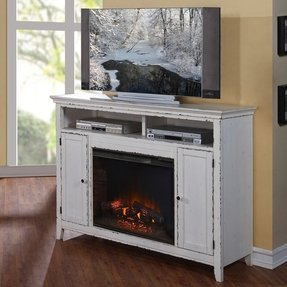 Brookside TV Stand with Electric Fireplace