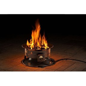 Outdoor fire lamps foter heininger portable propane outdoor fire pit mozeypictures Gallery