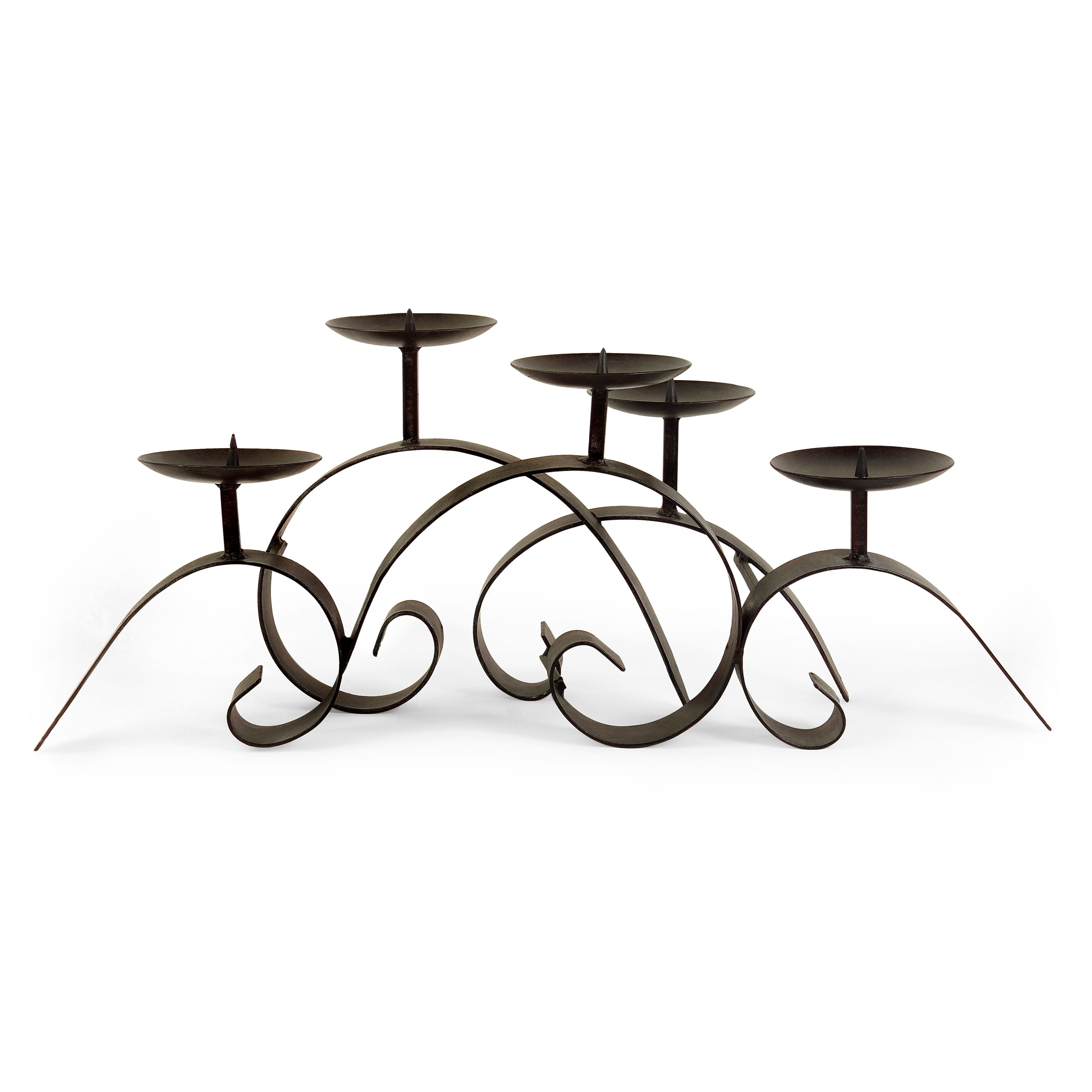 Wrought Iron Centerpiece Candelabra
