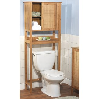 "Bamboo 27.56"" x 66.93"" Over the Toilet Cabinet"
